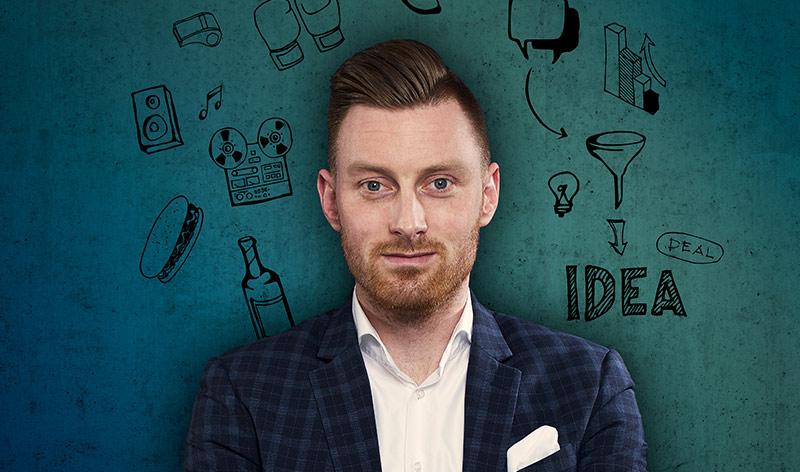 Robert, ICT advies geven en creativiteit is zijn werk